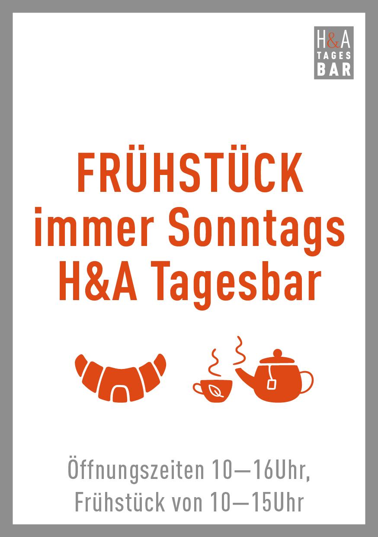 Frühstück in der Tagesbar in Köln, Jeden Sonntag am Friesenplatz in Köln Frühstück,