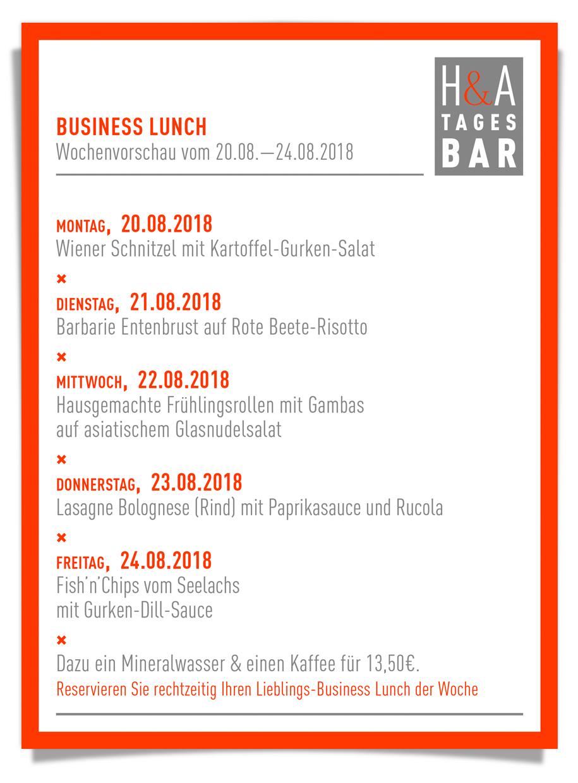 Die Tapasbar Tagesbar, Business Lunch und Mittagskarte in Köln am Friesenplatz,