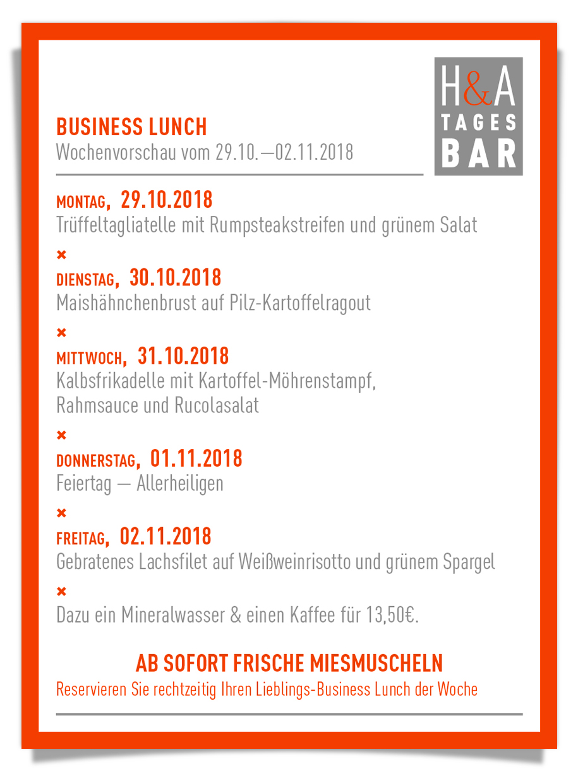businessLunch in der Tagesbar in Köln, am Friesenplatz restaurant cafe und Weinbar, Tapas und MIttagskarte