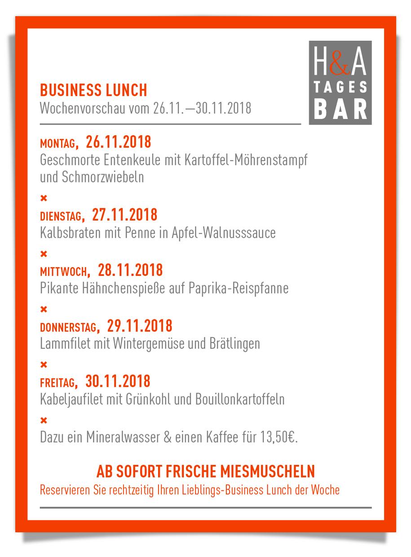 Die Tapasbar in Köln, Restaurant mit Mittagskarte am Friesenplatz,