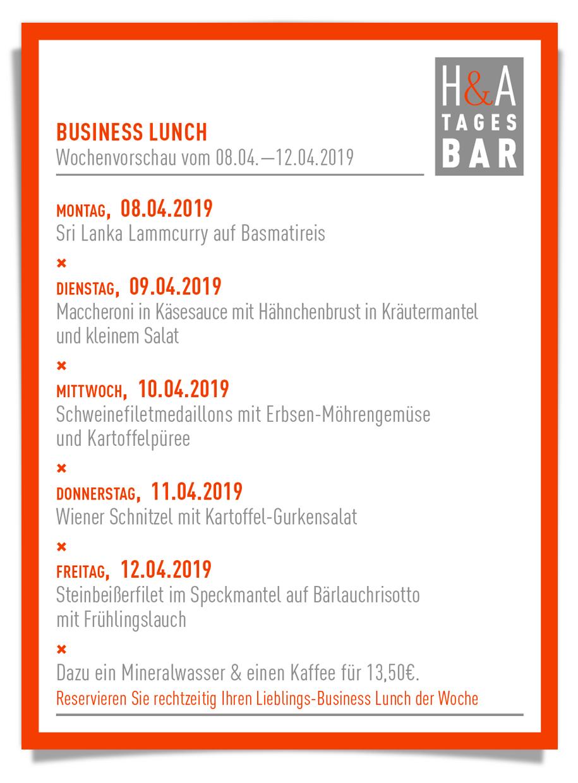 der businessLunch in Köln, Die Mittagskarte am Friesenplatz, Die Tapasbar mit Mittagskarte und Business Lunch, Weinbar