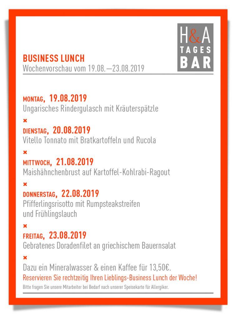 businessLunch in der tagesbar, restaurant und cafe in Köln am Friesenplatz, die weinbar mit mittagskarte