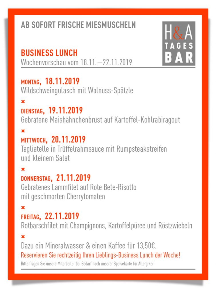 #businessLunch #tagesbar #restaurant #cafe #weinbar #mittagskarte #dinner #lunch #colognefoodguide #foodguide #koeln #köln #tapas  #terrasse #welovecologne #mitvergnuegenkoeln