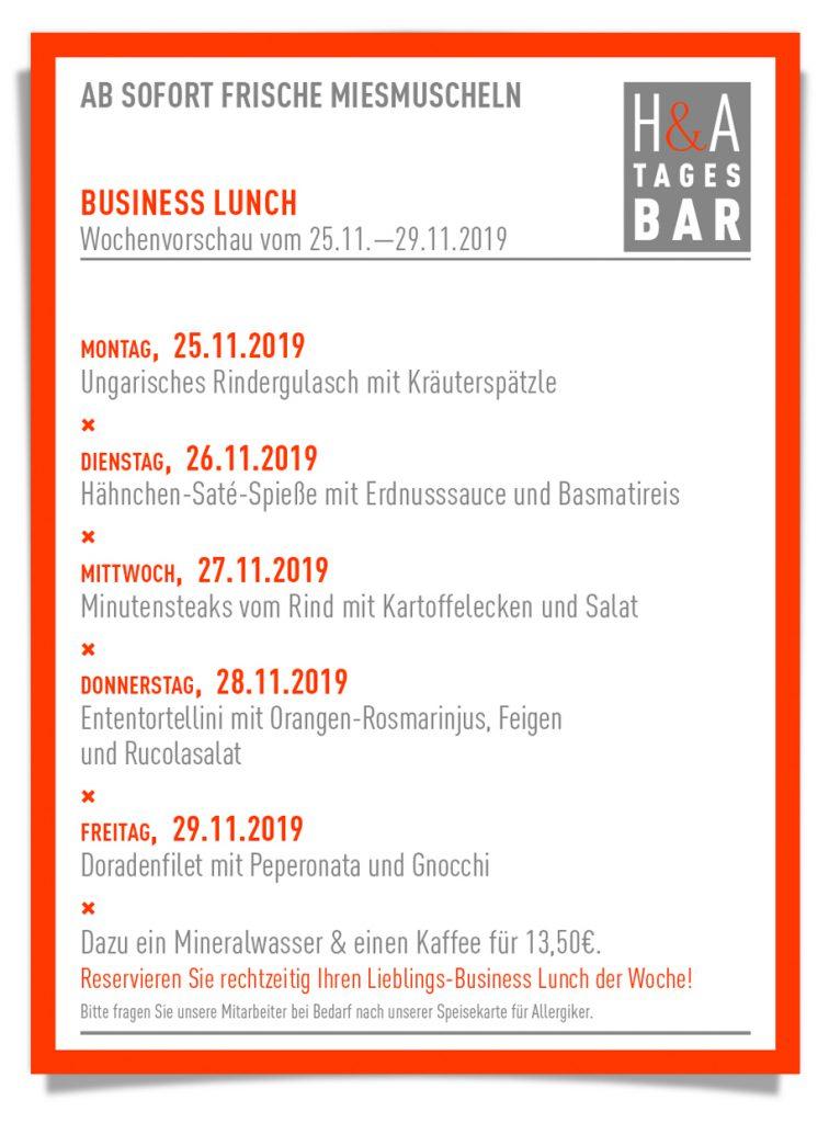 Business Lunch in Köln, Am Friesenplatz in cologne Tapasbar und Weinbar, MIttagskarte mit Lunch und Business Lunch, Weibar und Tapas