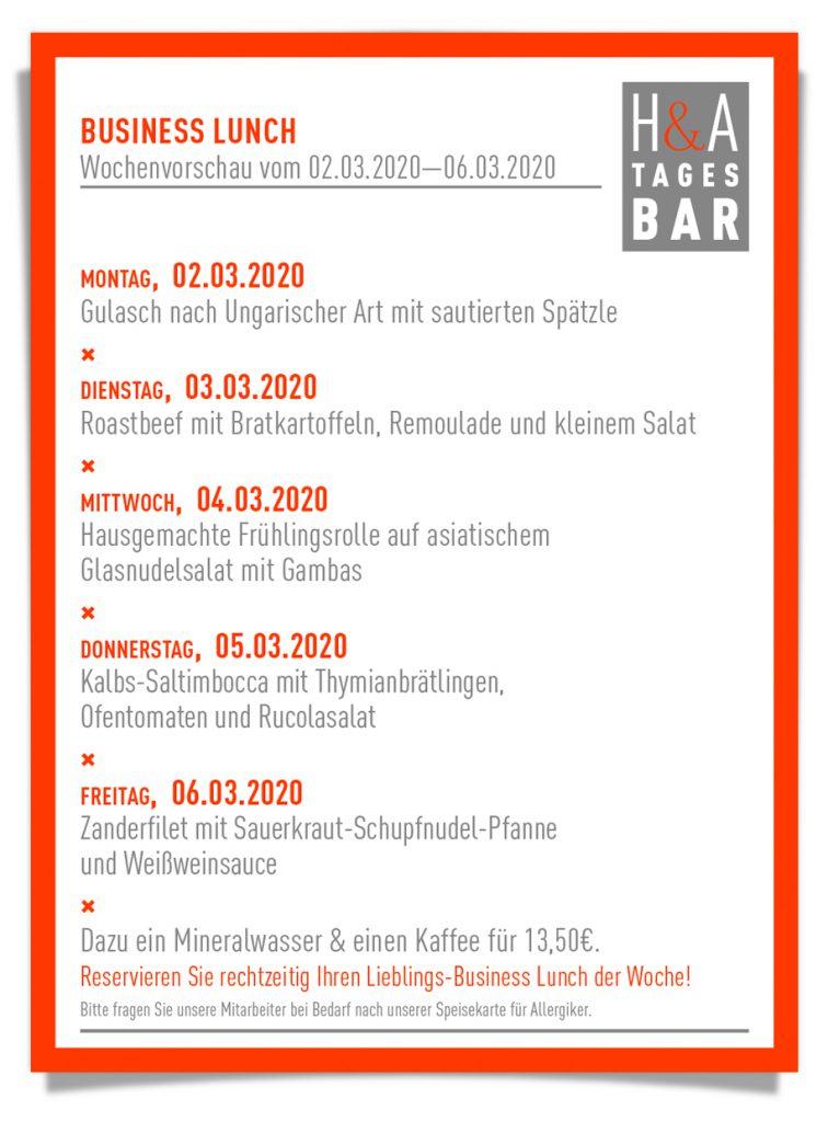 Die Tagesbar in Köln, am friesenplatz die Tapasbar mit Mittagstisch, Business Lunch und Cafe, Cologne Food,