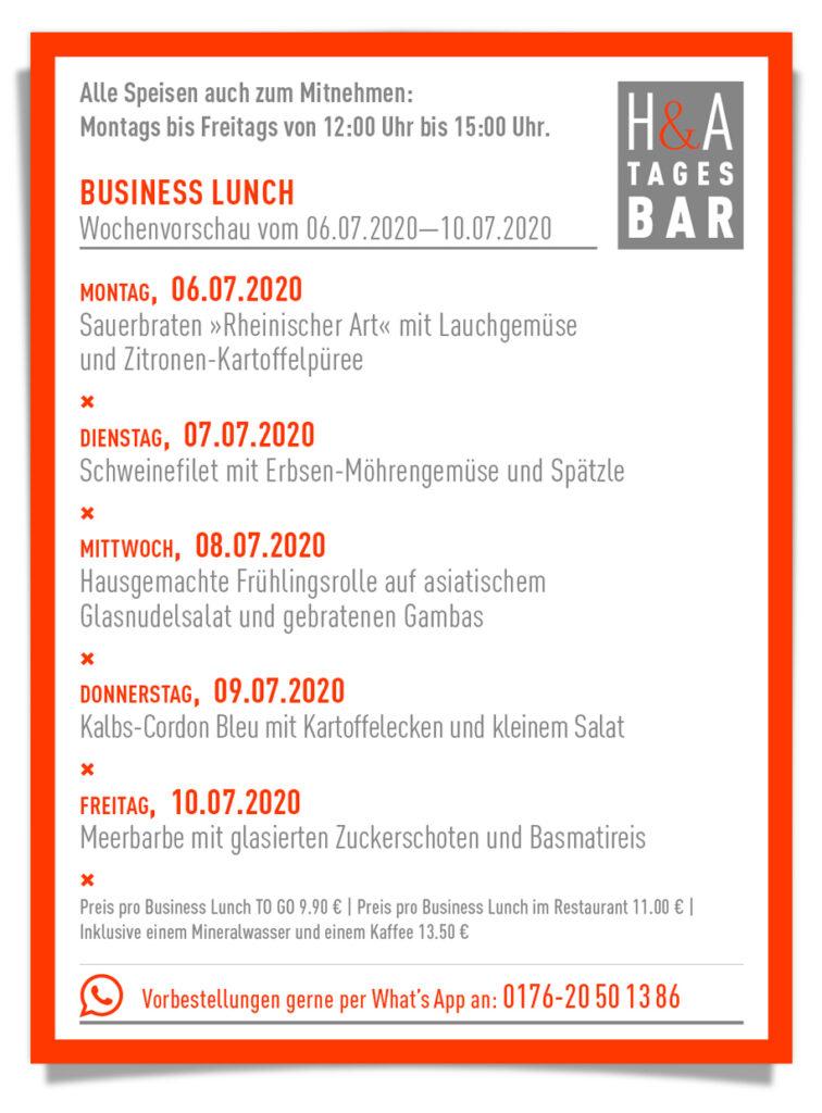 Die Tagesbar in Köln am Friesenplatz, Tapas und Business Lunch