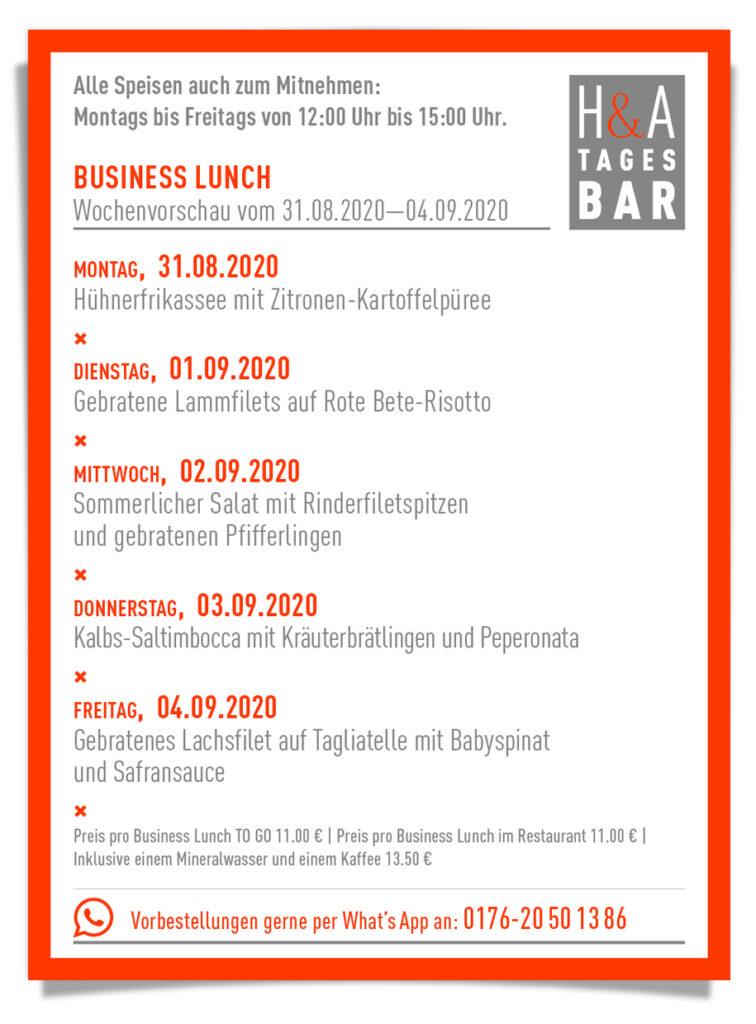Die Tagesbar in Köln mit der Mittagskarte und Business Lunch, TapasBar und Weinbar am Friesenplatz