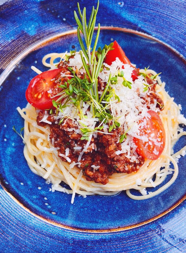 Spaghetti Bolognese von der H&A Tagesbar