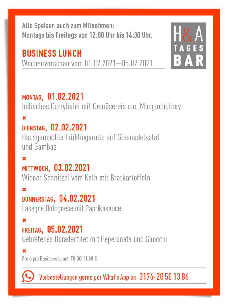Die Tagesbar, MIttagskarte to go am Friesenplatz, Restaurant und Tapasbar