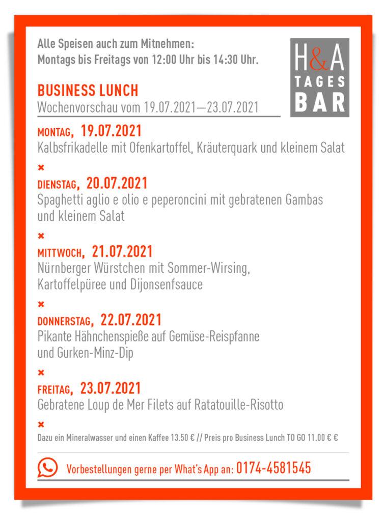 Die Tagesbar in Köln, Business Lunch und Tapasbar , Mittagskarte und cologne Food