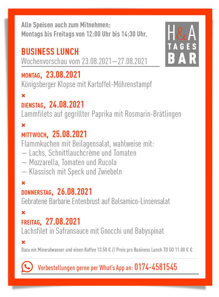 Die Tagesbar in Köln, Restaurant und Tapasbar mit Business Lunch und Mittagskarte im Herzen von Köln